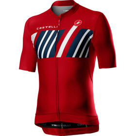 Castelli Hors Categorie Jersey Korte Mouwen Heren, red